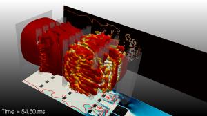 Prédiction d'explosion en milieu confiné, recherches CERFACS