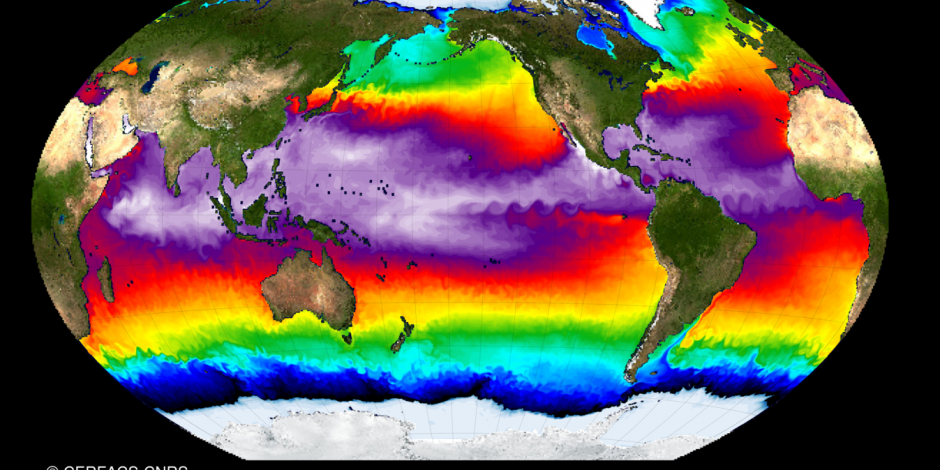 OCCIPUT Project : Upper Ocean Temperature