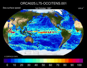 OCCIPUT project : Upper Ocean Velocity